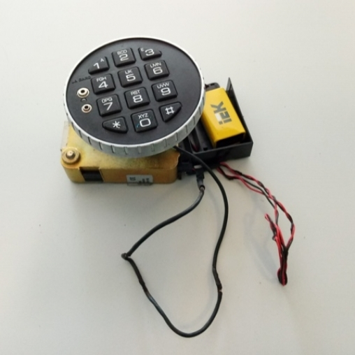 Замок сейфа электронный кодовый (DIAL KEY:COMBO GARD:3040-DB Electronics Combination Lock
